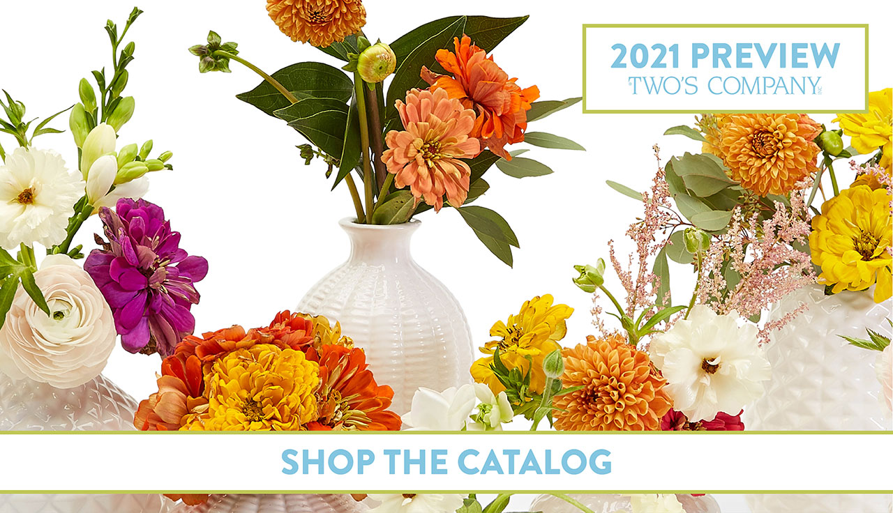 Shop 2021 Two's Company Preview Catalog